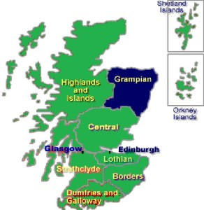 MAP GRAMPIAN